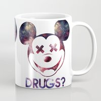 mouse Mugs featuring mouse by jeff'walker