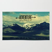 adventure Area & Throw Rugs featuring Adventure by RDelean