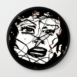 Damsel Wall Clock