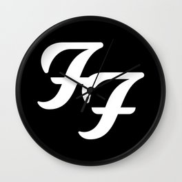 FooFighters Wall Clock