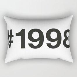 1998 Rectangular Pillow