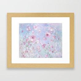 Meadow in Bloom Framed Art Print
