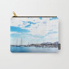 Villanova port harbour Marina Ostuni on the Adriatic sea Carry-All Pouch