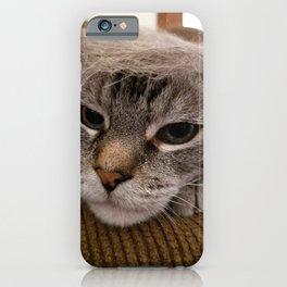 Comb Over Cat iPhone Case