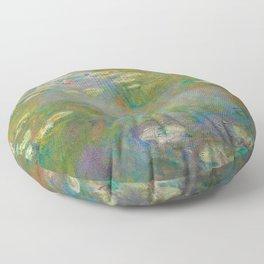 Claude Monet - Water Lily Pond Floor Pillow