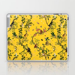 Monkey World Yellow Laptop & iPad Skin