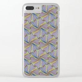 Pinwheel Fun Clear iPhone Case