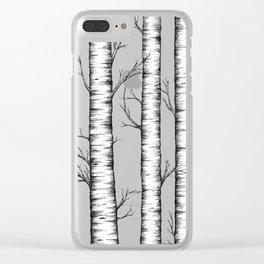 Wonderland - Blue Clear iPhone Case
