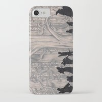 lotr iPhone & iPod Cases featuring On the way (The Fellowship of the Ring, LOTR) by Blanca MonQnill Sole