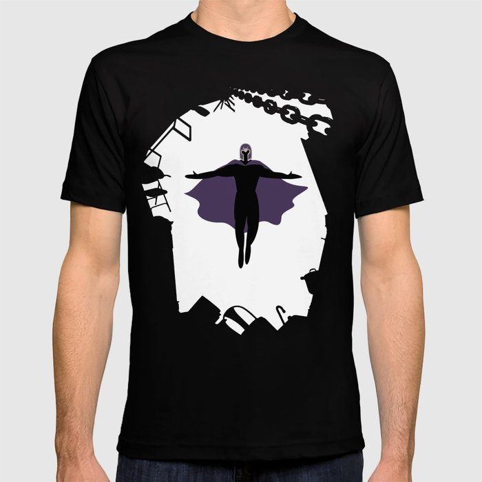magnet man t shirt by merloe society6