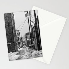 Alley Winter Stationery Cards
