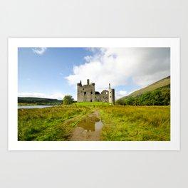 Kilchurn Castle 2 Art Print
