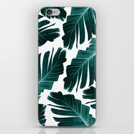 Tropical Banana Leaves Dream #1 #foliage #decor #art #society6 iPhone Skin