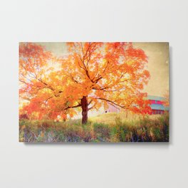 The end of it... Fall Metal Print