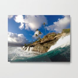 China Walls Swell  Metal Print
