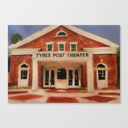 """""""The Post Theater"""" Canvas Print"""