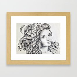 lulù Framed Art Print