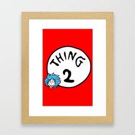 Thing 2 Framed Art Print