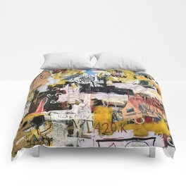 Basquiat World Comforters