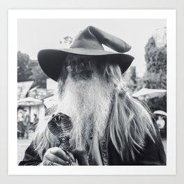 Wise Wizard of Castleton Art Print