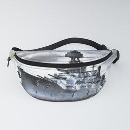 USS Texas Fanny Pack