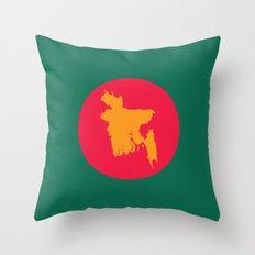Flag | Bangladesh Throw Pillow