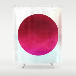 Cicle Composition XI Shower Curtain