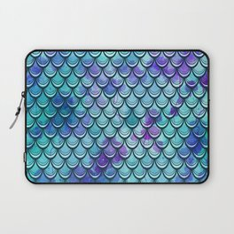 Mermaid Scales Watercolor Laptop Sleeve