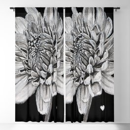 A Flower with lots of feelings Blackout Curtain