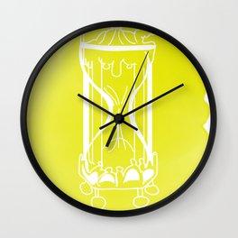Huevember Wall Clock