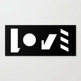 LOVE-symbol2 Canvas Print