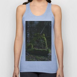 Abandoned by man, Reclaimed by nature Unisex Tank Top