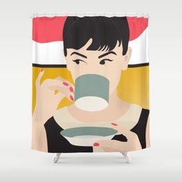 Audrey Tea Time Shower Curtain