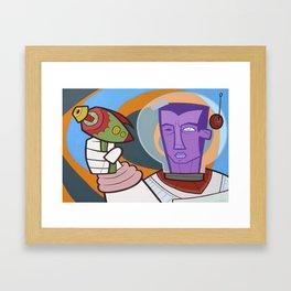He-Ray Framed Art Print