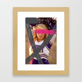 Cheerleader´s  adventures Framed Art Print