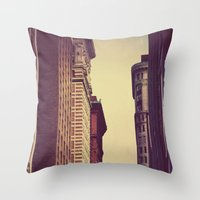 inception Throw Pillows featuring Inception by Caleb Troy