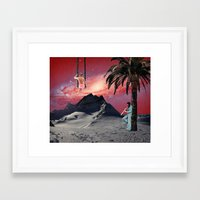 chill Framed Art Prints featuring Chill by Nope