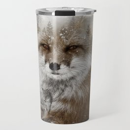 Fox Stare Travel Mug