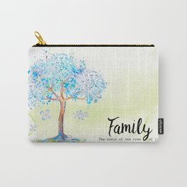 Family blue Carry-All Pouch