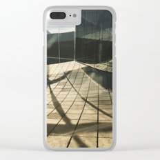 Shreds and Shards Clear iPhone Case
