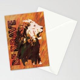 Lion Be Brave Stationery Cards