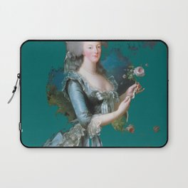marie Antoinette teal Laptop Sleeve