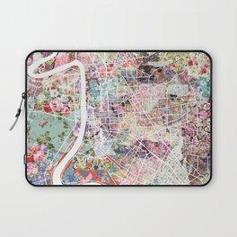 Baton Rouge map Laptop Sleeve