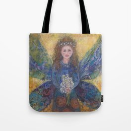 faeries fairies and angels Tote Bag