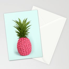 PINEAPPLE ROSES Stationery Cards