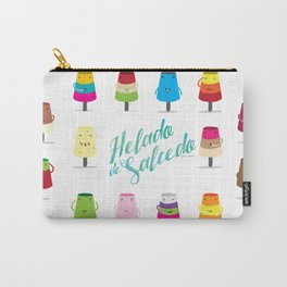 Salcedo's Ice-Cream 2.0 :: Helado de Salcedo 2.0 Carry-All Pouch