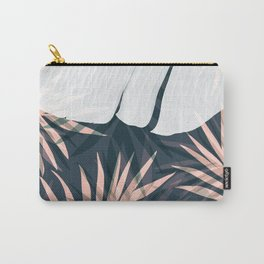 Elegant Palm Trees Foliage Design Carry-All Pouch
