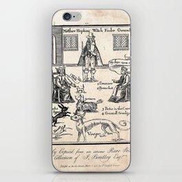 Matthew Hopkins, Witchfinder general iPhone Skin