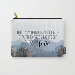 Galatians 5:6 Carry-All Pouch