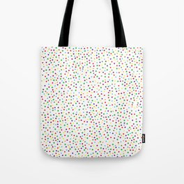 Color Coded Shapes Tote Bag